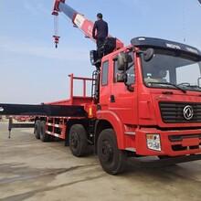 随车吊厂家东风锦程14吨5节臂长兴吊机图片