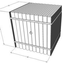 臺車爐內襯保溫結構陶瓷纖維模塊圖片