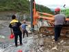 海南乐东硅石岩石破裂机