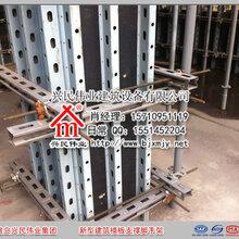山西太原代替双方管做新型建筑模板支撑的剪力墙钢背楞优势图片