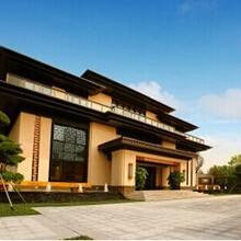 厦门泰禾首玺现代建筑院落高端室内设计装饰