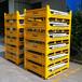 厂家定制生产金属周转箱可折叠高承重重型物流铁箱铁板箱租赁