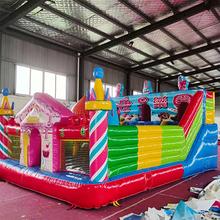廊坊儿童乐园活动租赁充气城堡出租滑梯蹦蹦床图片
