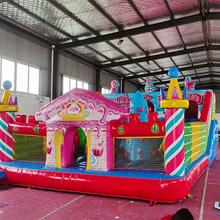北京充气城堡租赁儿童蹦床出租活动暖场游乐设备图片