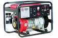 日本电王汽油三菱发电电焊机HW220,50-200A,?#23435;?#32032;下向氩弧焊