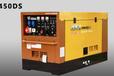 日本電王柴油久保田發電電焊機HW450DS,400A,雙把焊,纖維素下向焊