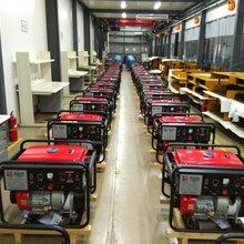 日本电王汽油三菱发电电焊机HW220,50-200A,纤维素下向氩弧焊图片