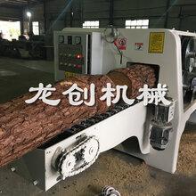 多片锯价格圆木原木切板机器龙创多片锯视频图片