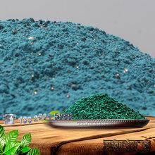 绿色金刚砂耐磨地坪漆混凝土耐磨粉图片