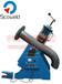 压辊式管法兰焊接变位机