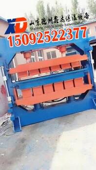 玻化微珠防火板生产线设备做外墙保温板的机器