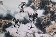 当代著名花鸟画名家刘国卿老师四尺作品长青图