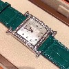 爱马仕H绿色鳄鱼腕表价格,爱马仕H绿色鳄鱼腕表介绍