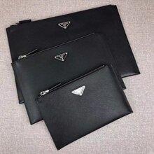 普拉达新款男士手包型号2NG001工厂