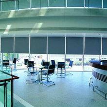天津空港定做办公窗帘窗帘安装图片