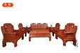 红木沙发非洲花梨木沙发组合明清仿古客厅中式实木小象头红木家具