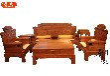 特价红木家具新中式实木沙发组合花梨木客厅仿古明式沙发五件套
