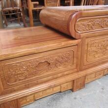 红木家具电视柜组合花梨木刺猬紫檀客厅中式背景墙博古架实木地柜