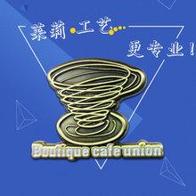 广东金属徽章厂,校徽胸章纪念章制作厂家,莱莉工艺制品