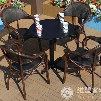 茶馆休闲桌椅