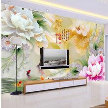 常德理光陶瓷背景墙打印机彩雕背景墙喷绘机信誉保证