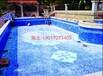 游泳池马赛克背景拼图剪画-厂家批发惠价