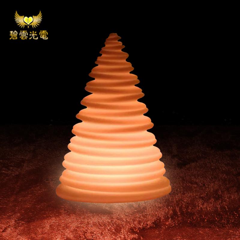 新品上市LED发光螺旋灯创意低碳环保户外节日聚会小夜灯WDH-3853