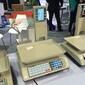 供应触摸屏电子秤大屏安卓系统电子秤农产品零售批发秤