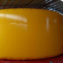 定制好奇星001型直径6米安全气垫缓冲气囊图片