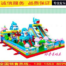 大型儿童气模玩具充气堡充气蹦蹦床充气滑梯迪士尼充气城堡