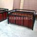 广州专业花箱厂家定做防腐木花箱园艺实木花盆铁艺种植箱