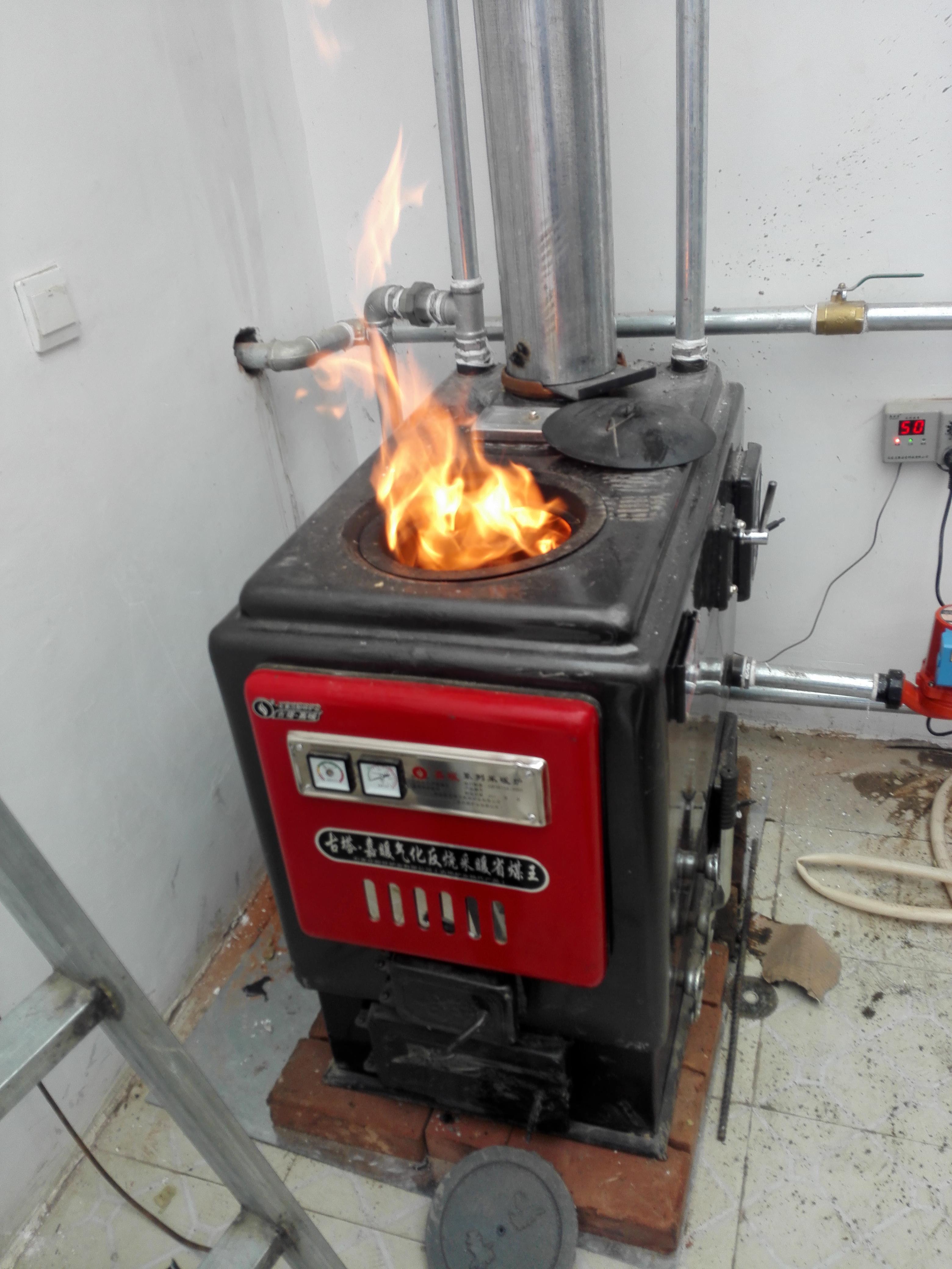 平房采暖炉的安防位置设计图