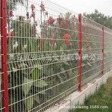 青岛园艺护栏网护栏网定做安装三角折弯护栏网图片