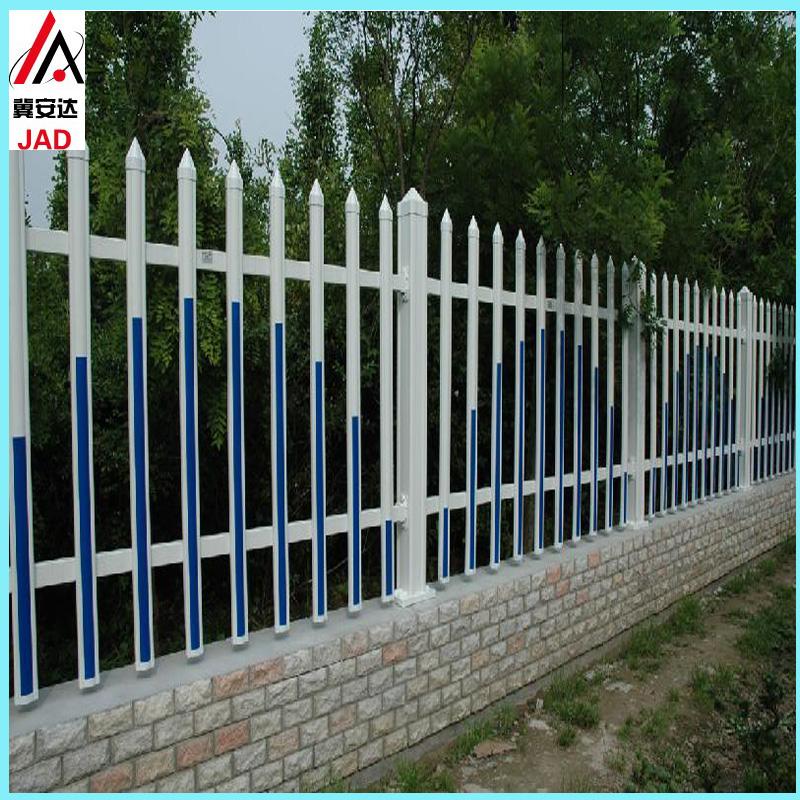塑钢pvc户外花园别墅庭院围栏幼儿园栅栏小区草坪护栏工厂栏杆