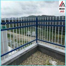 锌钢护栏厂区围墙围栏别墅栅栏学校庭院铁艺栏杆塑钢镀锌防护栏图片