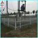 变压器围栏塑钢护栏PVC围栏厂区栅栏草坪护栏绿化带栏杆
