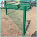 青岛三角折弯护栏小区厂区围墙护栏桃型柱围栏园艺护栏网