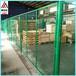 供应桃型柱护栏三角折弯护栏园艺护栏网小区围墙防护网