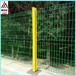 三角折弯护栏小区围墙护栏网园艺围栏网厂区围墙桃柱护栏网