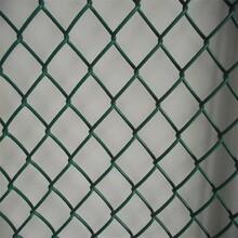 菱形勾花网浸塑勾花网体育场防护网篮球场护栏网支持定做图片