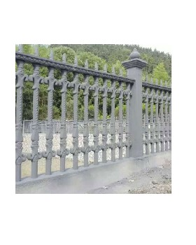 预制围栏安装方法水泥艺术围栏模具厂家