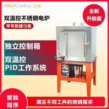 艺辉不锈钢双温控电炉PID双重温控烤箱脱蜡回收首饰器材电焗炉窑图片