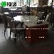 茶餐厅桌椅大理石餐桌功夫茶餐桌时尚桌椅厂家供应多多乐家具