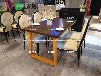 訂做深圳主題餐廳餐桌胡胖子連鎖店復古主題工業風桌椅主題餐桌