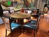 咖啡廳時尚主題餐桌復古懷舊主題工業風桌椅
