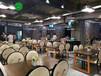 湖南菜湘菜館主題餐廳主題餐桌美式做舊主題工業風桌椅深圳廠家供應