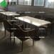 供應快餐廳西餐廳大理石餐桌精致時尚餐桌