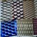花式钢铝金属板网龟甲状钢铝金属板网低碳钢小钢板网