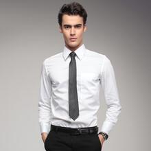 新派威男装斜纹男长袖衬衣商务正装新款韩版修身职业衬衫十色选