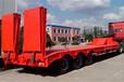 13米低平板半挂车价格鹅颈式平板运输车厂家直销